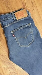 LEVIS MENS JEANS MODEL 501 W38 L32 STRAIGHT