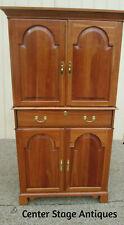 56242 Harden Solid Cherry Entertainment Cabinet High Chest Dresser