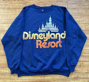 New vintage disneyland Disney resort sweater sweatshirt XL Classic Collectible