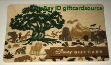"DISNEY WORLD ANIMAL KINGDOM STORE WOOD GIFT CARD ""TREE OF LIFE"" 20th Anniversary"