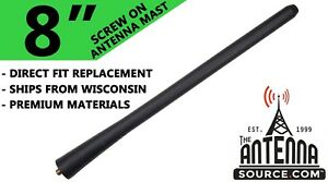 "8"" ANTENNA MAST - FITS: 2011-2014 Chrysler 200"