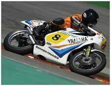 post card Yamaha TZ500 1980 Bikers' Classics Spa 2013 #8 Mile Pajic
