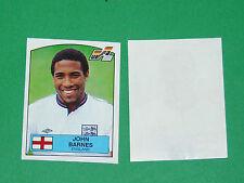 PANINI FOOTBALL EURO UEFA 88 1988 N°179 JOHN BARNES ENGLAND ANGLETERRE