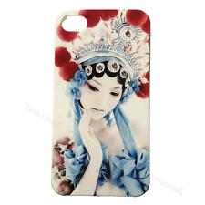 Traditional Chinese Peking Opera Lady Case with Crystals for iPhone 4/4S