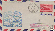 First Flight Cover FAM 28 - New York to Anchorage 1947