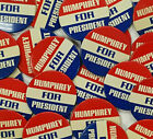 Collection of 25 Hubert Humphrey For President Original Campaign Buttons