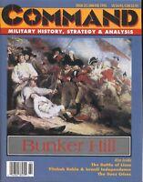 Command Magazine #32 January - February 1995  Bunker Hill