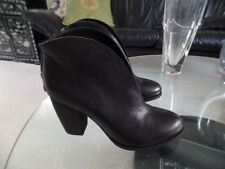 ASH EXCELLENT  BLACK SUEDE SHOES .BOOTIES SZ 40 EUC