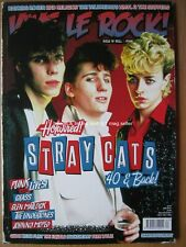 Vive Le Rock issue 63 2019 Stray Cats Glen Matlock Undertones Keith Flint Crass