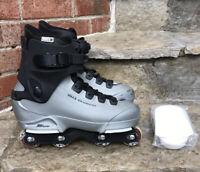 St80 Salomon UFS Aggressive Inline Skates Rollerblades US 10 Freestyle