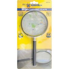 3X Mag +LARGE MAGNIFYING GLASS+Handheld Lens Clarity Loupe/Magnifier