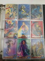 1994 Fleer ultra Xmen 150 set & Limited Edition Subset & Exit Wolverine + MORE!!