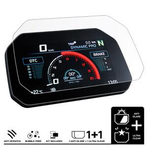 BMW F900XR (2020+) Tacho Displayschutzfolie 1 x Ultra Klar & 1 x Entspiegelt