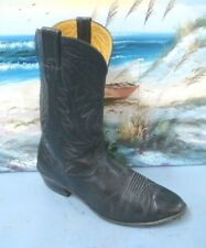 Nocona Boots Mens Western Cowboy Boot Black Soft Leather Size 11 EE   45960
