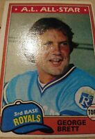 1981 Topps Set Break #700 George Brett NM-MT OR BETTER *GMCARDS*