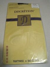 Pantyhose Discretion Queen Size 165 - 200 lbs. Black Sealed Canada