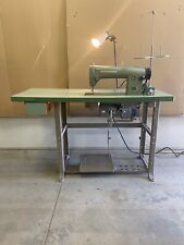 Consew Model 215 Industrial Sewing Machinefully Operational With Good Motor