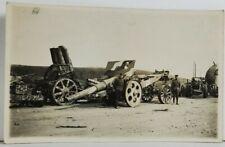 Rppc Military Artillery Gun Canons Weapons Soldiers WW1 Era  Postcard O20