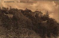 SCHWARZATAL AK um 1910/20 Greifenstein Blankenburg alte Postkarte Ungelaufen