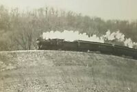 Steam Locomotive Passenger Freight Train Photos 1920's Black And White Lot of 3