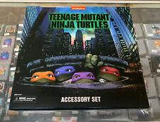 Neca Reel Toys Teenage Mutant Ninja Turtles Exclusive TMNT Accessory Set Movie