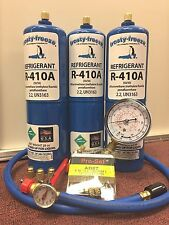 R410, R410a, 3 Can, Refrigerant Recharge Kit, each can 28 oz., r410, 410, R-410