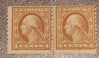 Scott#: 495 - George Washington Mint NH Line Pair Stamps Cat $75