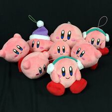 Kirby Plush Mascot Keychain Key Ring Kirby Nintendo Japan Toy Gift by Random 1PC