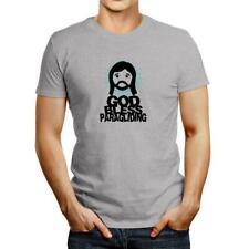 New listing GOD BLESS Paragliding T-shirt