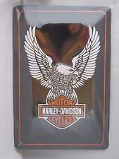 HARLEY DAVIDSON MOTORCYCLES - Retro Metal Sign by Nostalgic Art - A4 size