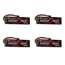Venom 50C 3S 5200mAh 11.1V LiPo Battery with UNI Plug x4 Packs