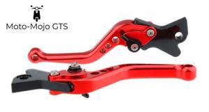 Vespa GTS GTV GT adjustable Levers Red 300 250 200 125