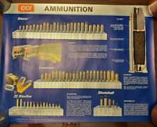 Speer & CCI - Bullets & Ammunition poster / Advertising