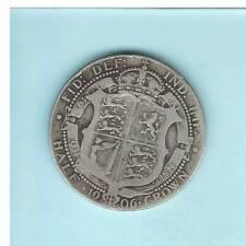 GROßBRITANNIEN, Edward VII., Half Crown 1906 Silber 13,8gr. 0.9250