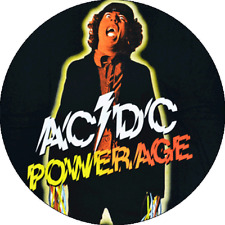 CHAPA/BADGE AC/DC Powerage . pin button bon scott angus malcom young hard rock