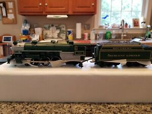 MTH 30-1125-1 RailKing Southern Crescent 4-6-2 Pacific Steam Locomotive & Tender