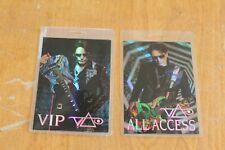 Steve Vai - 2 x Laminated Backstage Pass - Free Postage -