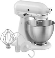KitchenAid Classic Stand Mixer 4.5 Qt - White