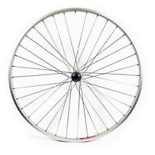 vélo ROUE AVANT 700c Wilkinson Hybride Argent simple paroi JANTE axe rigide