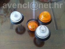 FIAT 128 127 126 124 131 132 X1/9 500 600 TURN SIGNAL SIDE INDICATORS MARKERS