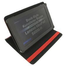 Funda para Lenovo IdeaPad s6000-h Book Style Tableta Protectora Soporte Rojo