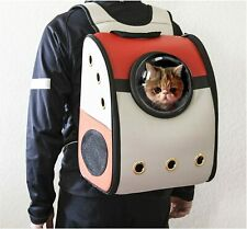 Pet Portable Carrier Space Capsule Backpack Cat Dog Puppy Breathable Travel Bag
