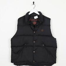Vintage MARLBORO CLASSICS Small Logo Sleeveless Gilet Puffer Jacket Coat | XL