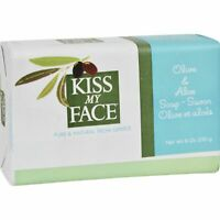 Kiss My Face Bar Soap Olive And Aloe - 8 Oz  3 Pack