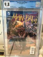 """DETECTIVE COMICS #23.4 (2011) CGC 9.8 """"Man-Bat #1"""" 3D Cover L@@K!"""