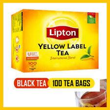 Lipton Yellow label 100 Tea Bags 200g - The Single Origin Pure Ceylon Tea