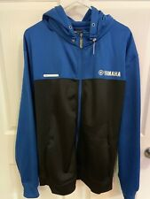 MINT Factory Effex Licensed Yamaha Zip Up Tracker Jacket Hoodie Size XL