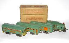 Scarce Lionel Boxed Standard Gauge Special 1 Set w/ Green Frame 10, 341 339 332