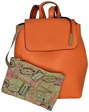 Zaino Donna Arancio Alviero Martini Backpack Woman Orange