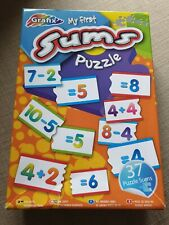 Grafix My First Sums Puzzle Number Education Fun Games